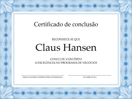 Borda para certificado png 2 » PNG Image.