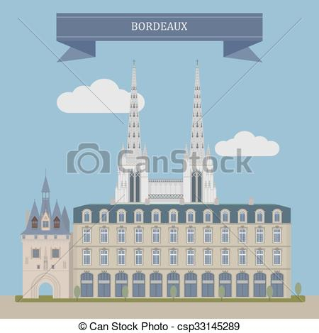 Bordeaux France Clip Art.