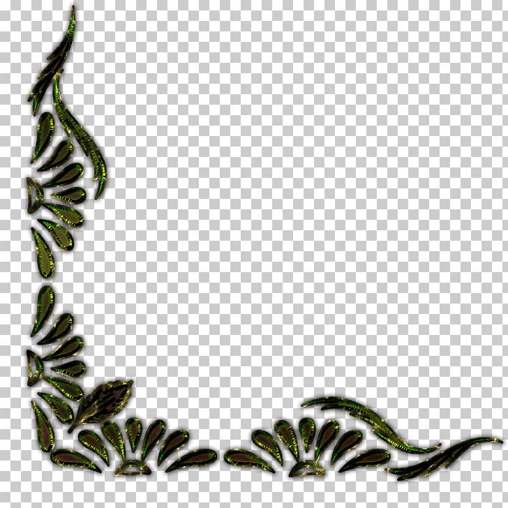 Ornament Flower , border line PNG clipart.