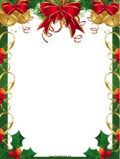 Border christmas clipart free.