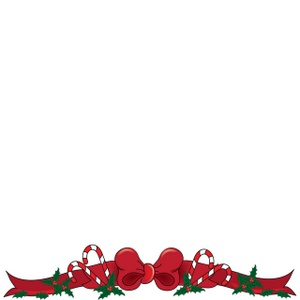 christmas border clipart free #9