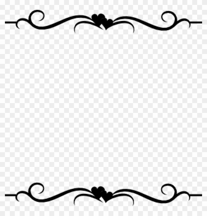 Elegant Border Clipart Word Clip Art Wedding Embellishments.