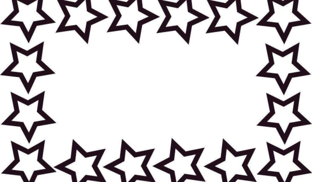 School border star border clip art free back to school clipart.