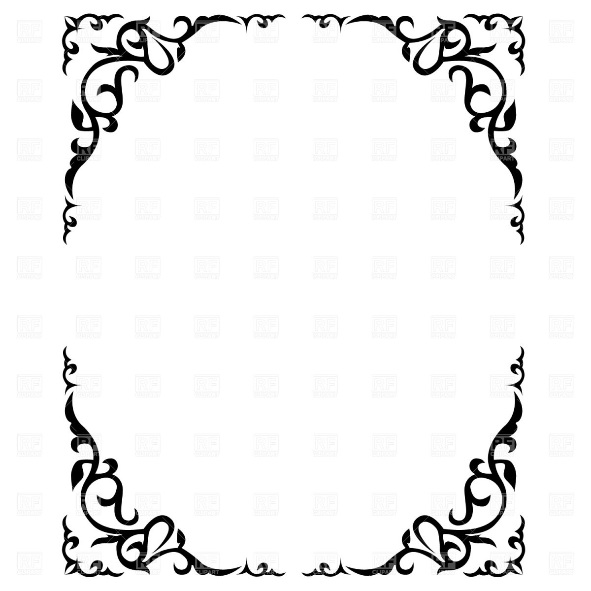Borders Vector Free Download Clip Art.