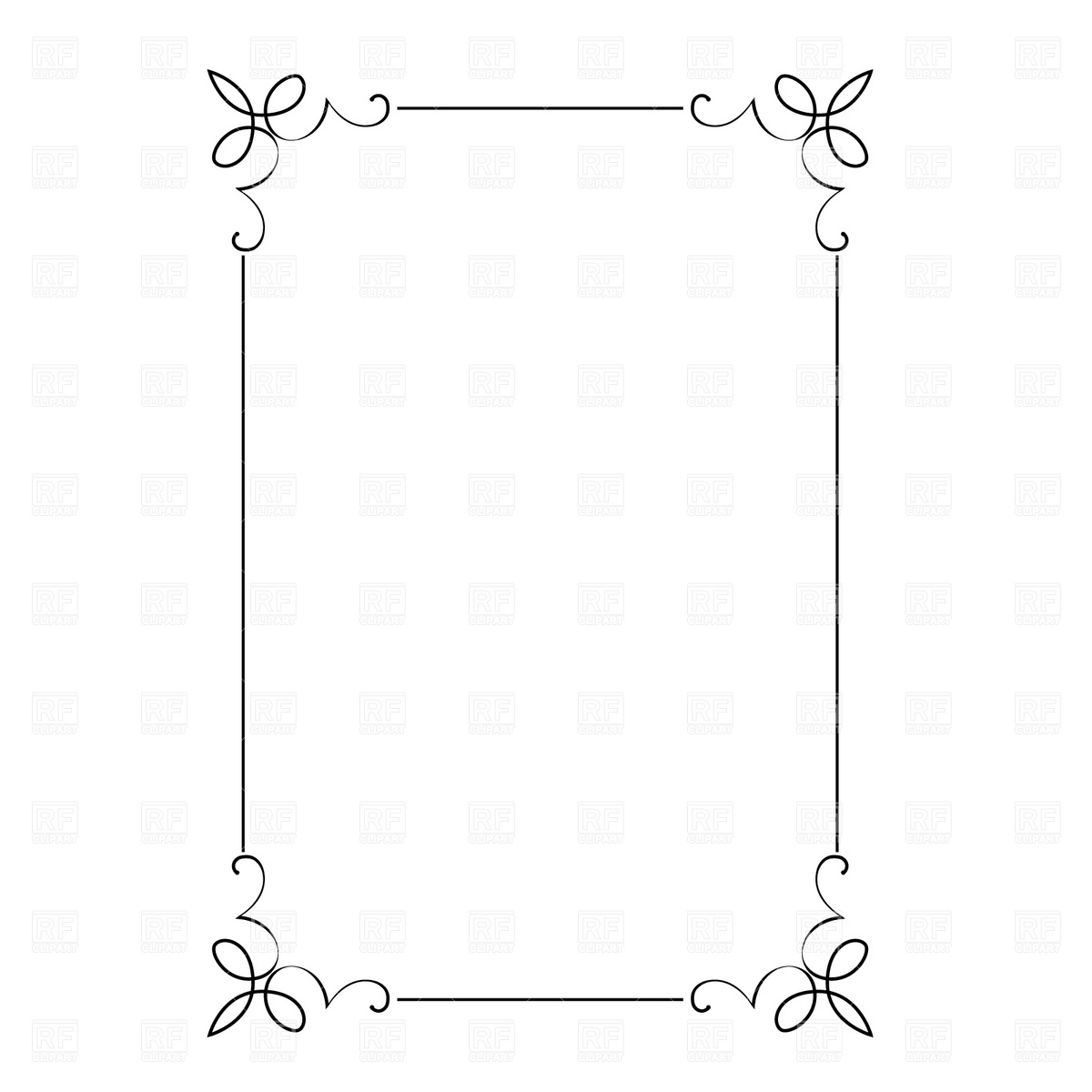 14 Free Vector Christmas Borders And Frames Images.
