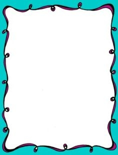 Simple Color Border Clipart.