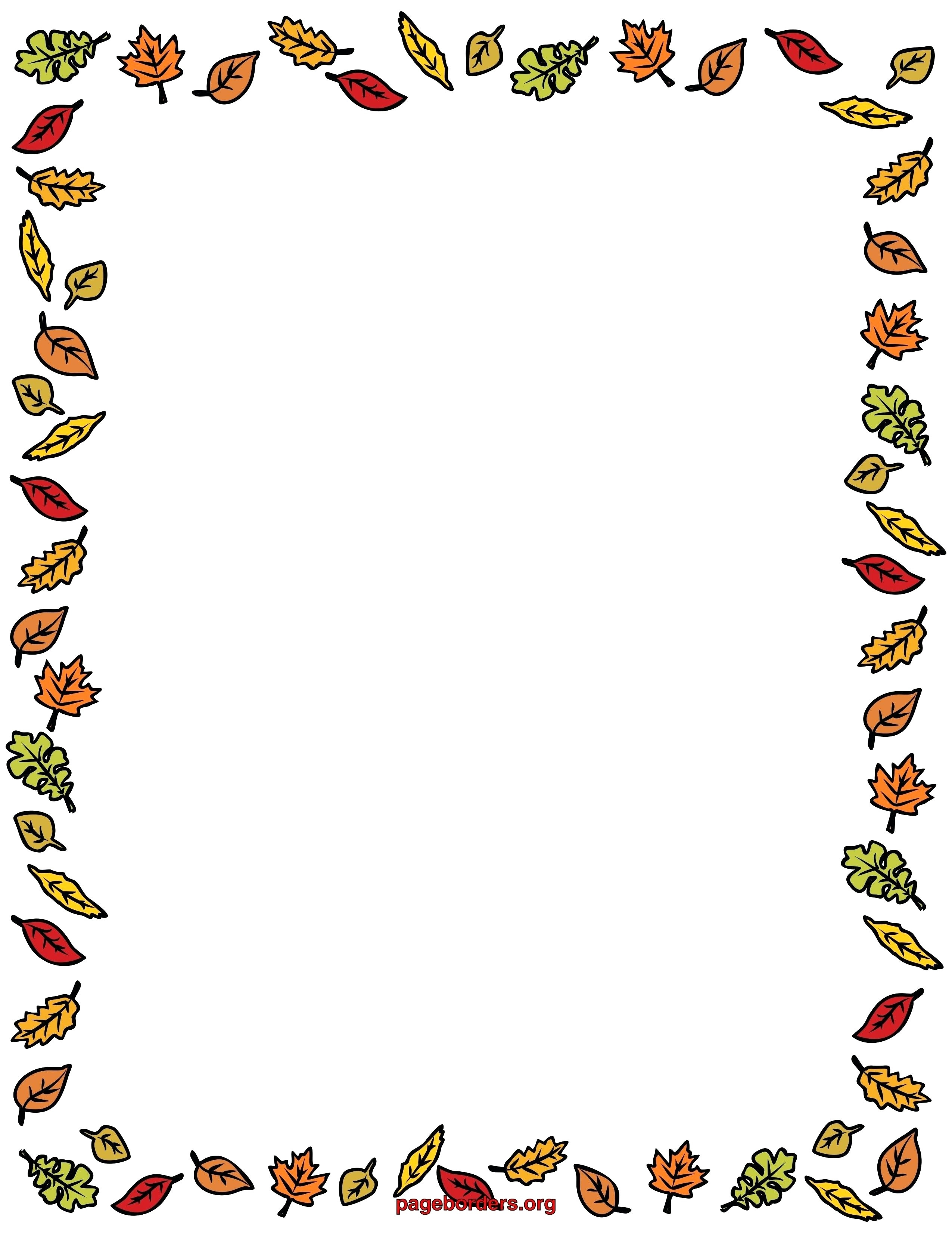 Fall Leaves Border Clipart Panda Free Images Amazing Borders.