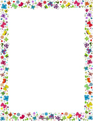 95+ Border Clipart For Word.