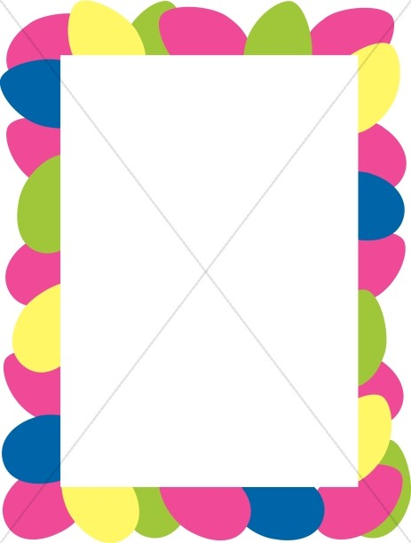 Colorful Border Clipart.