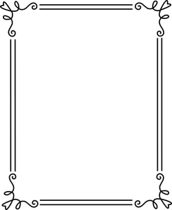 Free Printable Border Clipart.