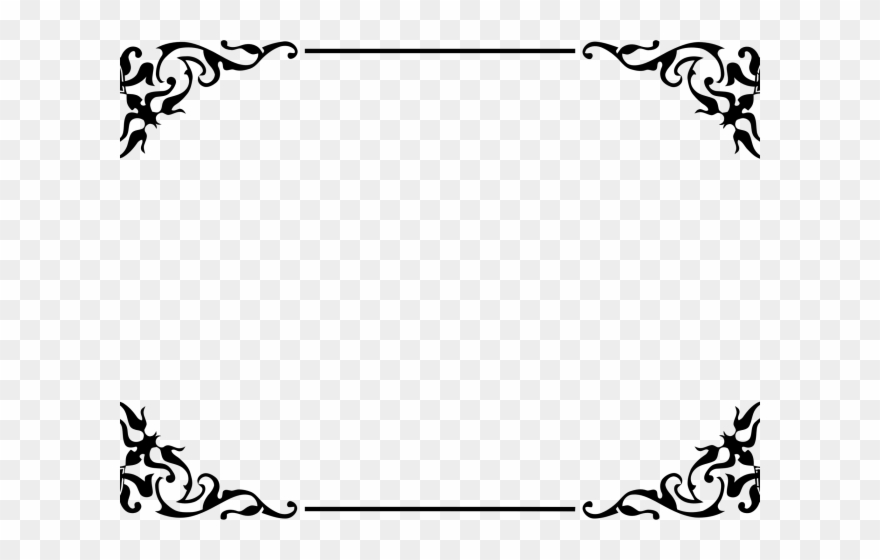 Decorative Border Clipart Ornamental.