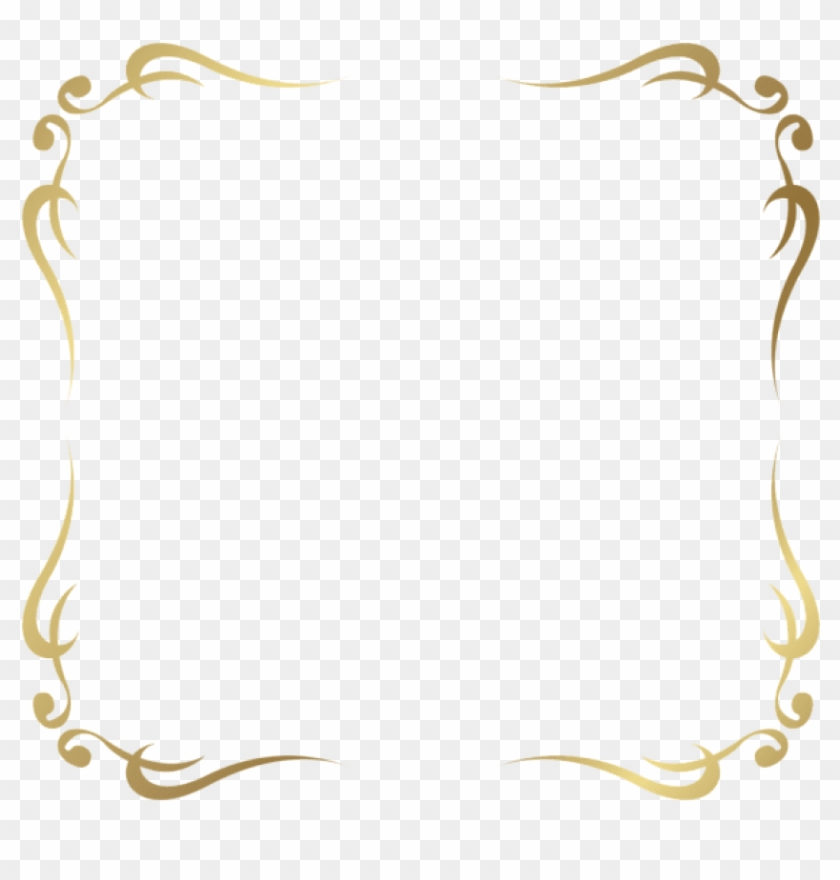Free Png Download Decorative Frame Border Clipart Png.