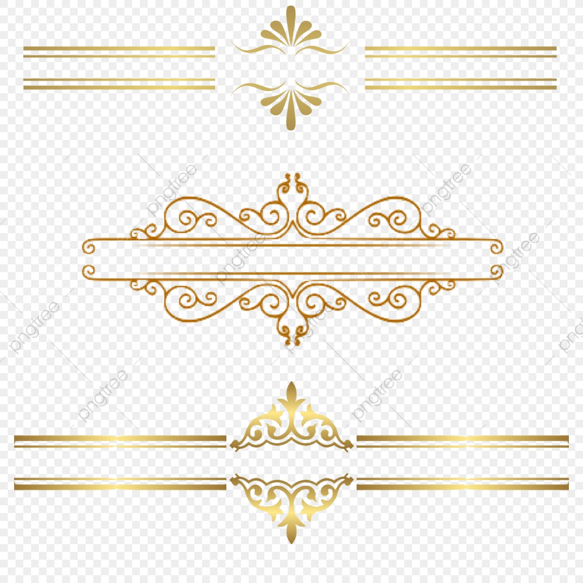 Gold Border Clipart Png, Lace, Gold Lace, Pattern PNG Transparent.