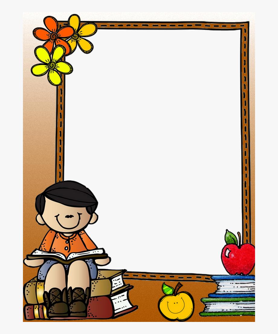 School Clip Frame Design.