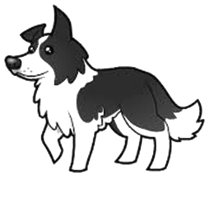 Collie Clipart.