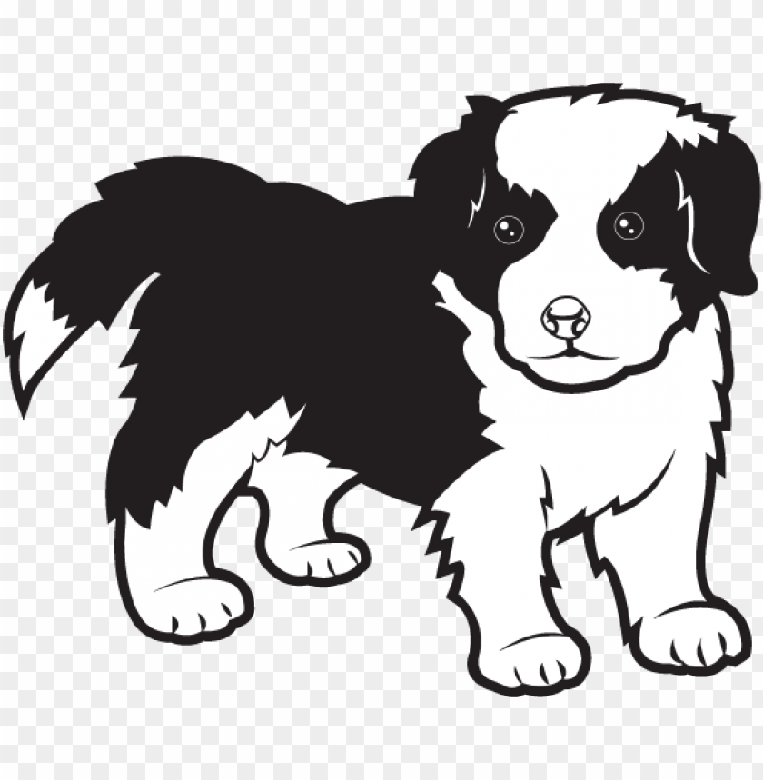 jpg black and white free clip art animals pets border.