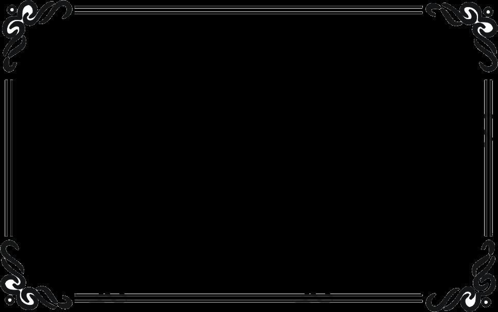 Creative Design Black Border, Black, Creative, Frame PNG Transparent.