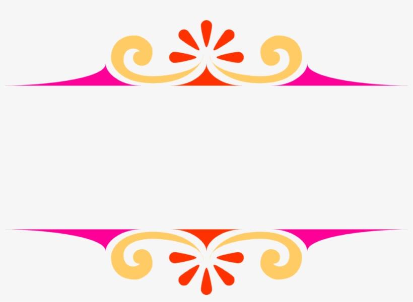 Colorful Corner Border Design Png Transparent PNG.