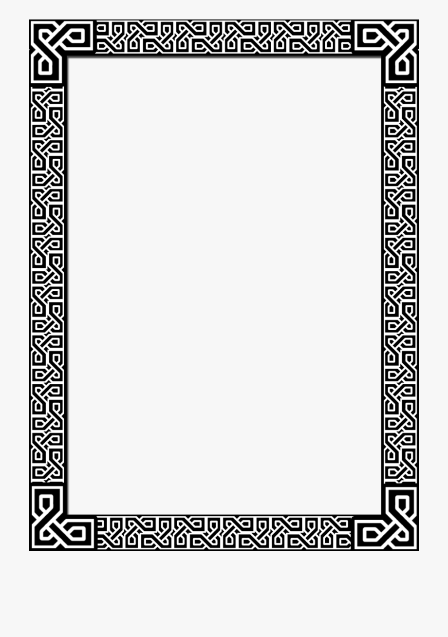 Celtic Border By Acorntail On Clipart Library.