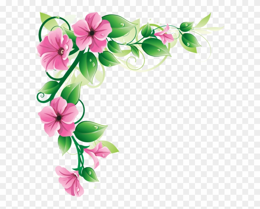 Flowers Borders Png Transparent Flowers Borders Png.