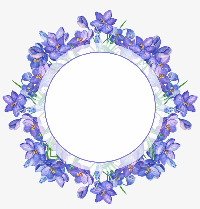 Borders For Paper, Borders And Frames, Watercolor Flowers,.