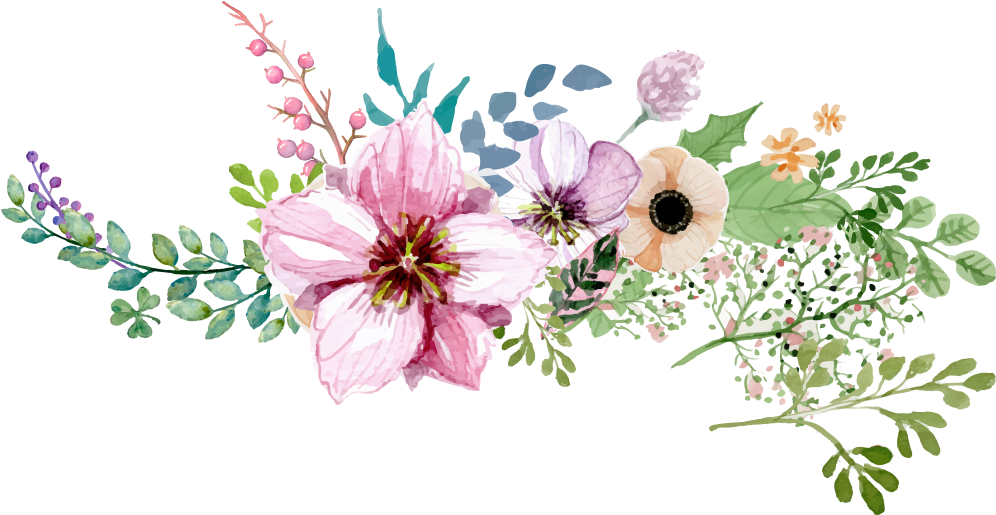 HD Flower Border Png.