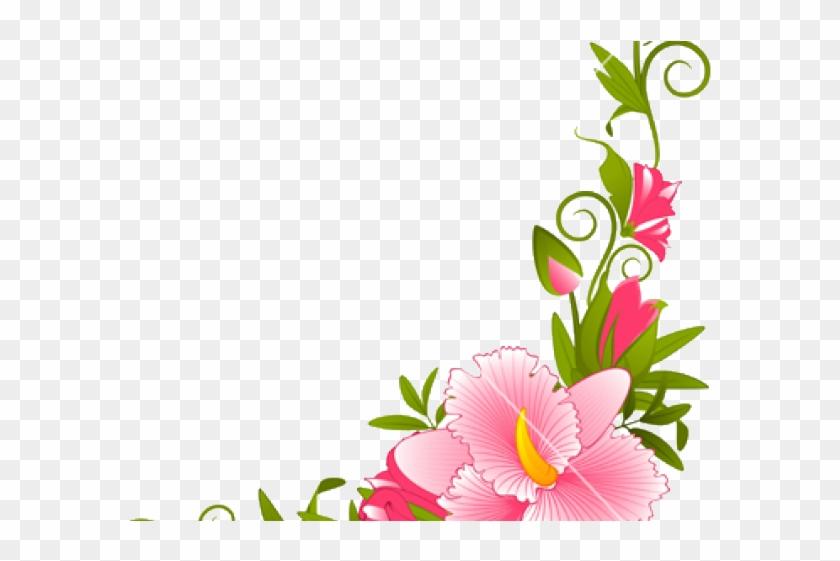 Flowers Vectors Clipart Music.
