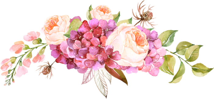 Free Watercolor Border Flowers PNG Vector, Clipart, PSD.