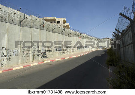 "Pictures of ""Border fortification between Israel and the."