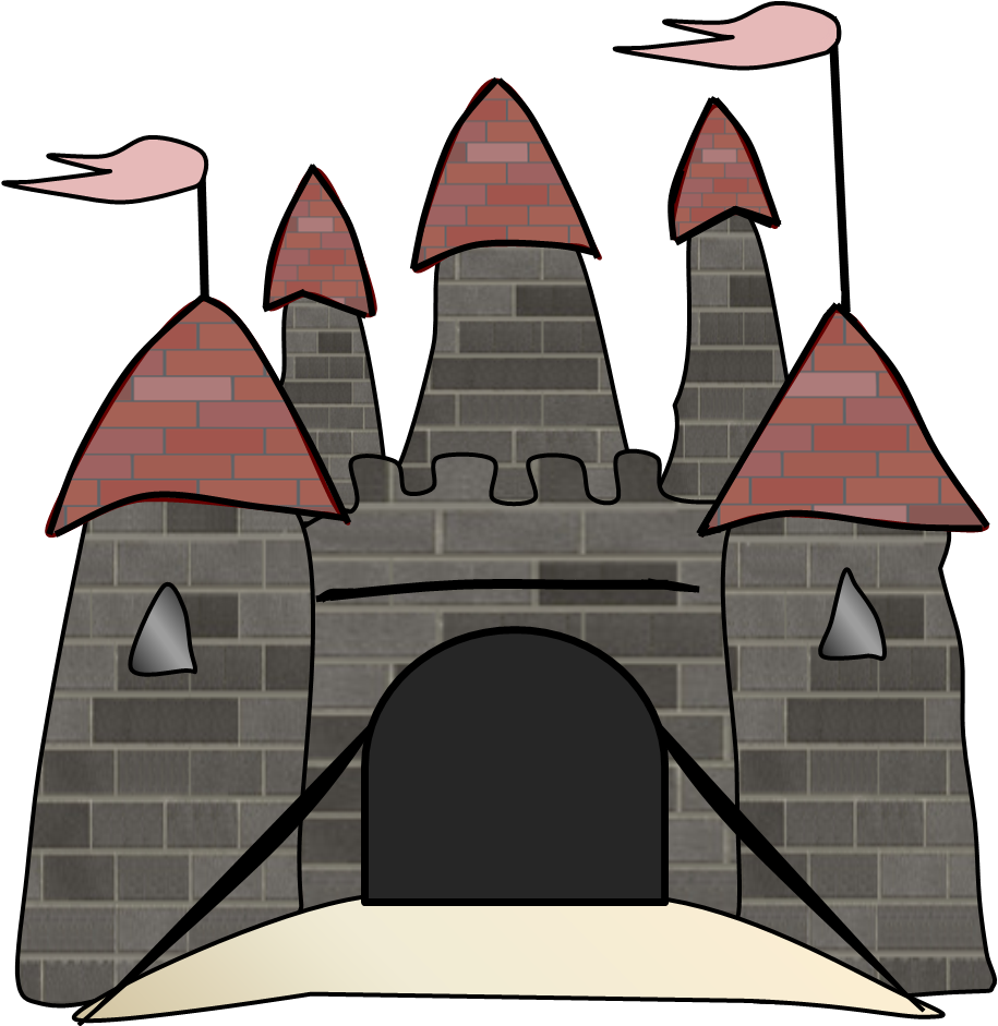 Castle border clipart clip art free.