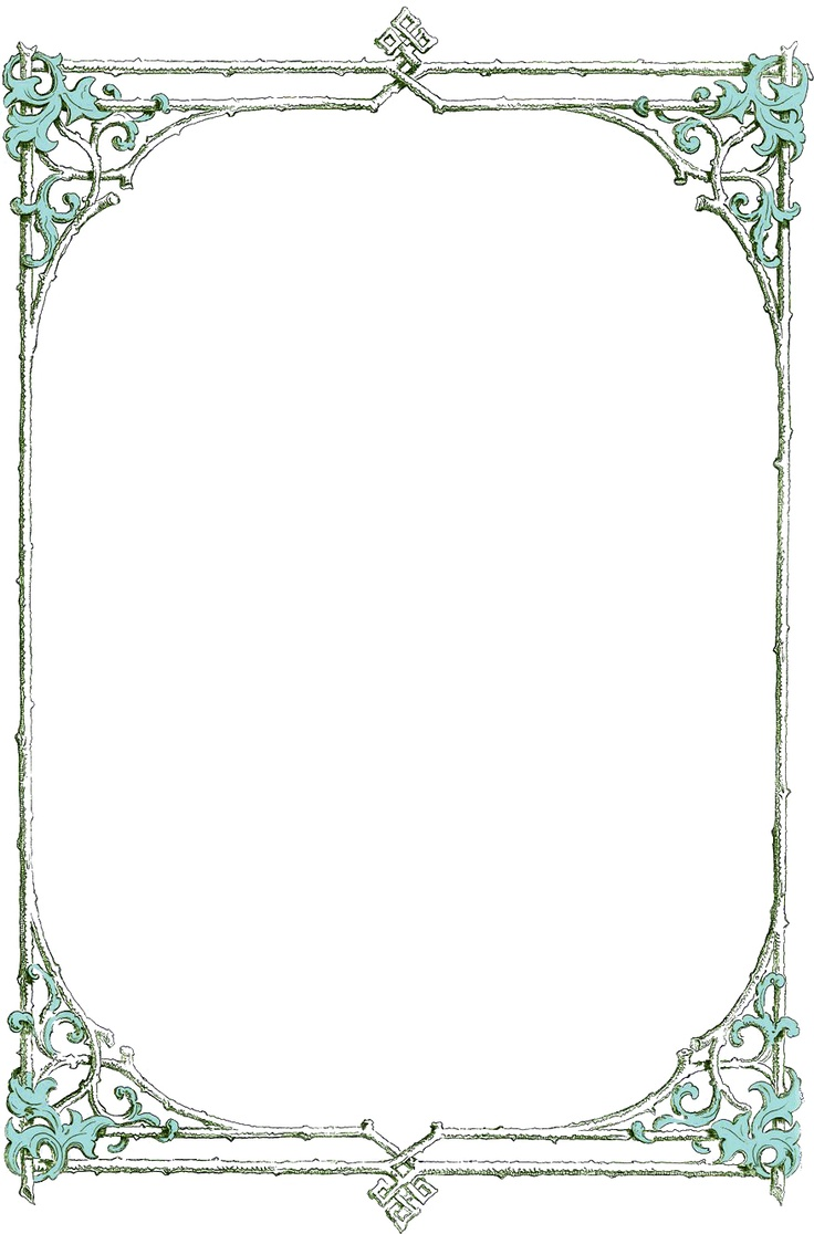 Canny image in free printable borders and frames clip art