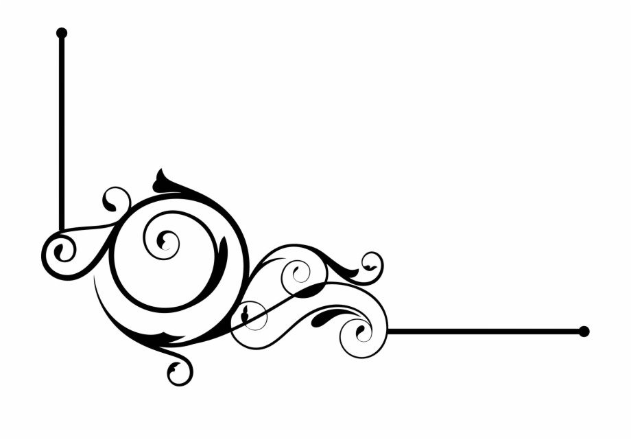 Decorative Line Gold Clipart Borders.