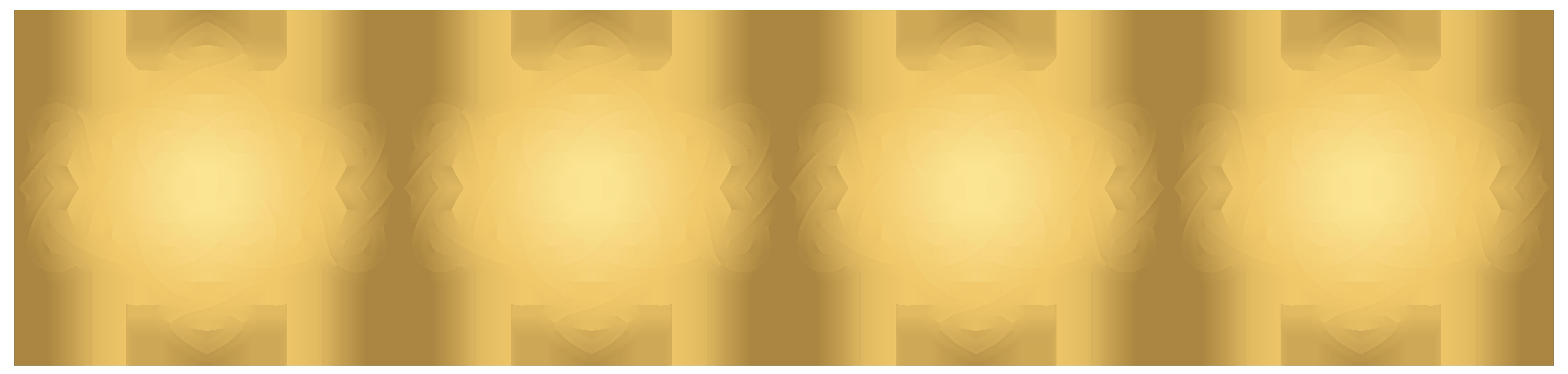 Decorative Border Line PNG Clip Art Image.