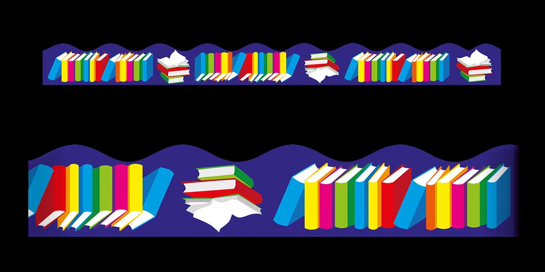 Books Border Free Download Clip Art.