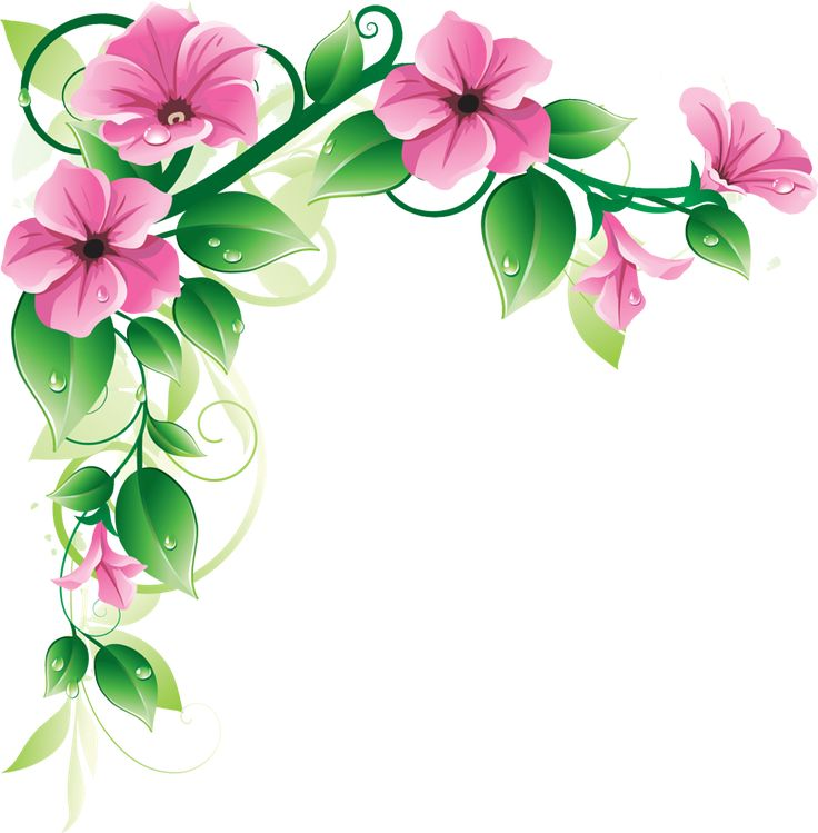 17 Best ideas about Flower Border Clipart on Pinterest.