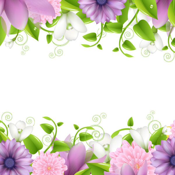 Flower border clip art free vector download (210,730 Free vector.