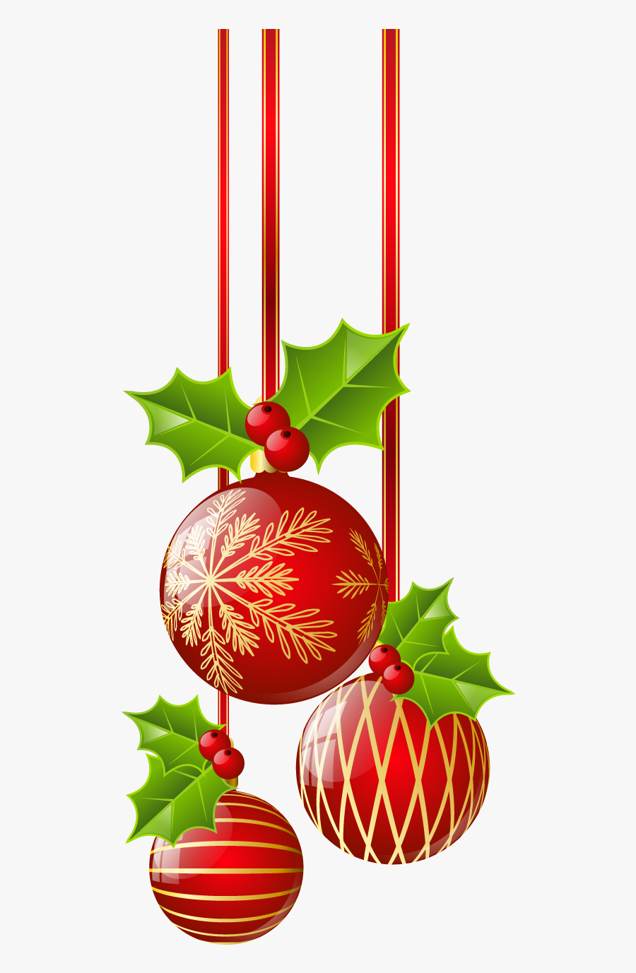 Ornaments ○ Christmas Border, Red Christmas, Red Ornaments.