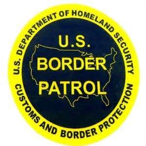 Border Patrol agents make arrests.