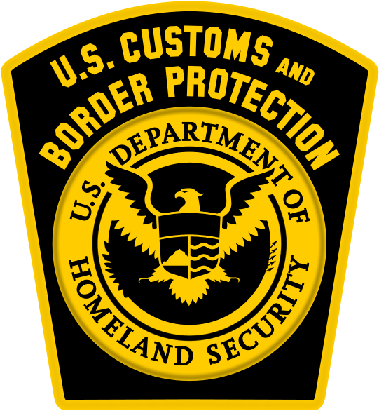 Customs and Border Patrol Logo.