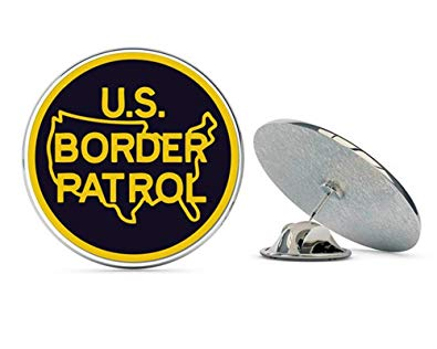 Amazon.com: NYC Jewelers US Border Patrol Logo Metal 0.75.