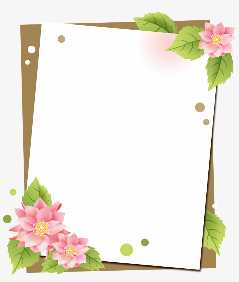 Borders For Paper, Borders And Frames, Text Background,.