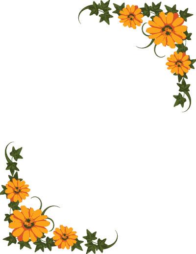Border Flowers.