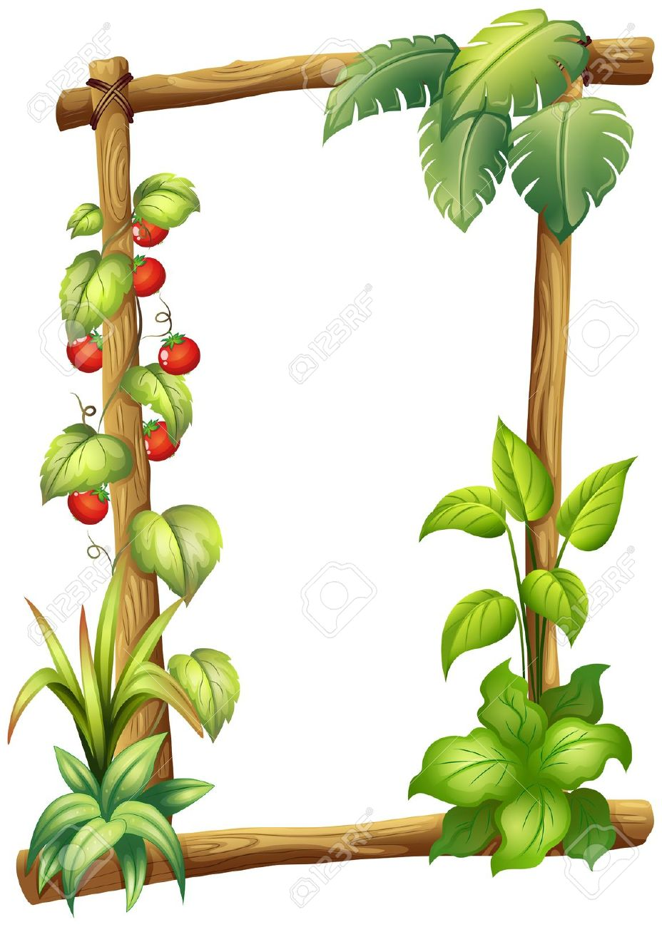 Border plant clipart clipground - Marcos para plantas ...