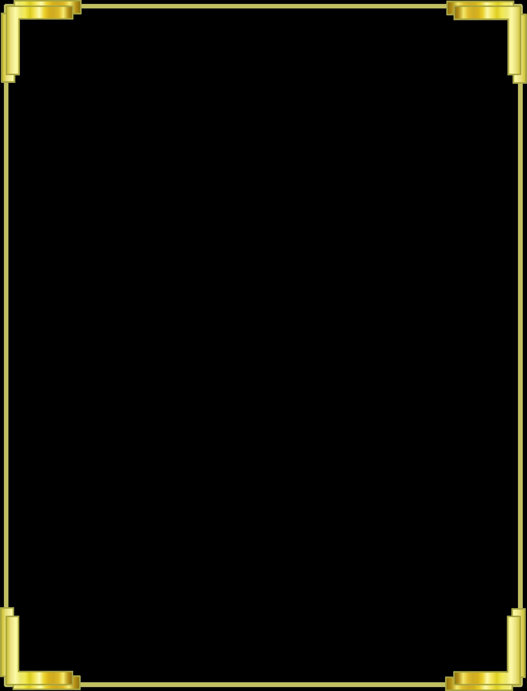 Border PNG Images, Gold Border, Line Frames, Blank.
