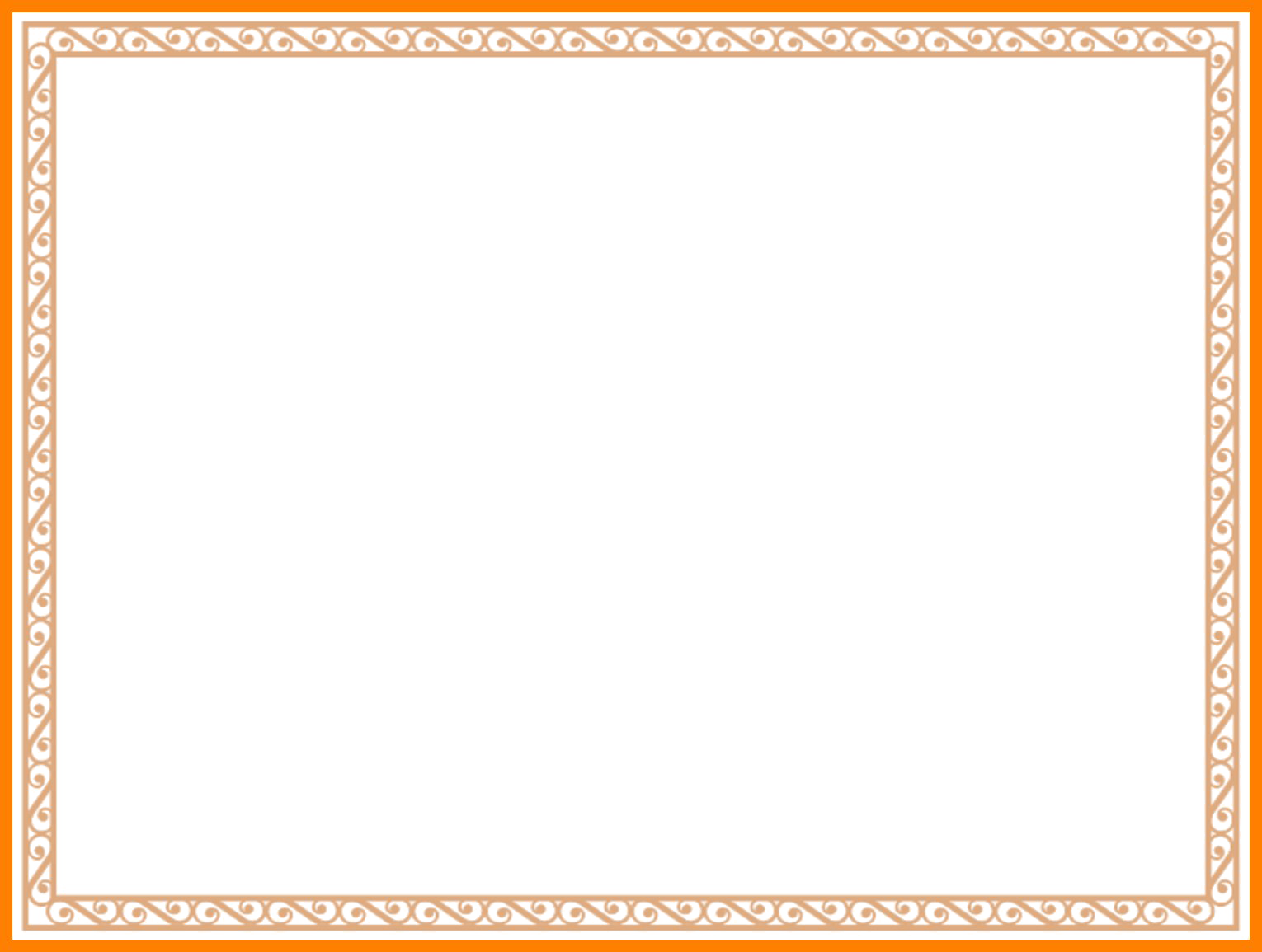 HD Border Png Free Download.