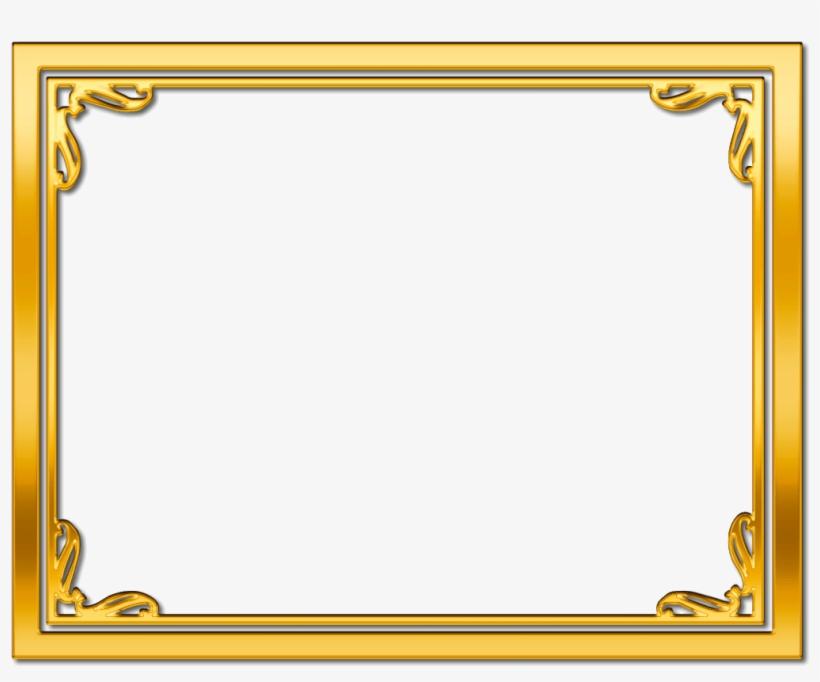 15 Gold Frame Border Png For Free On Mbtskoudsalg.