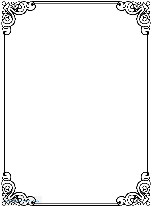 Free Border PNG For Word Transparent Border For Word.PNG Images.
