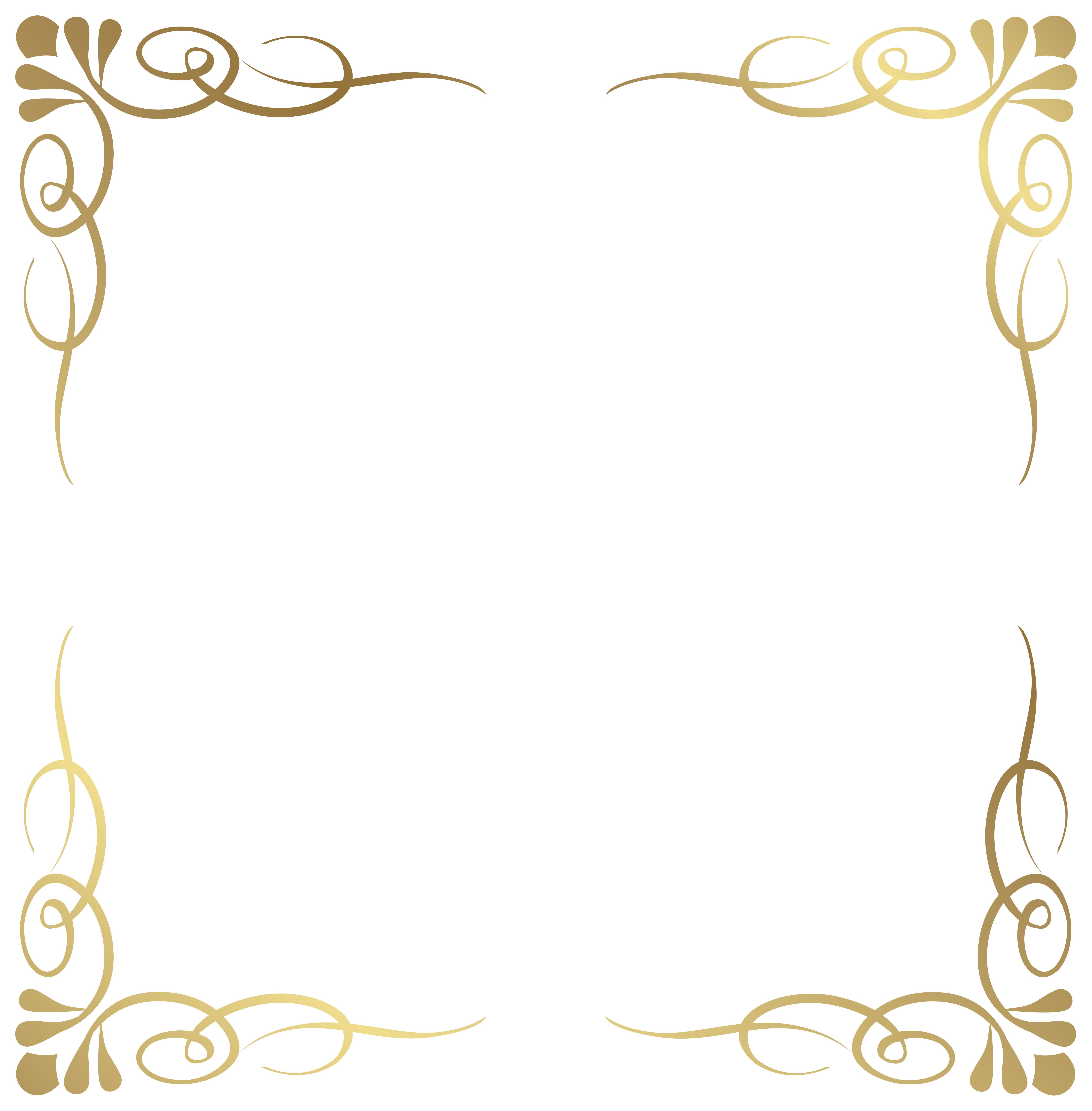 Borders Transparent PNG Pictures.