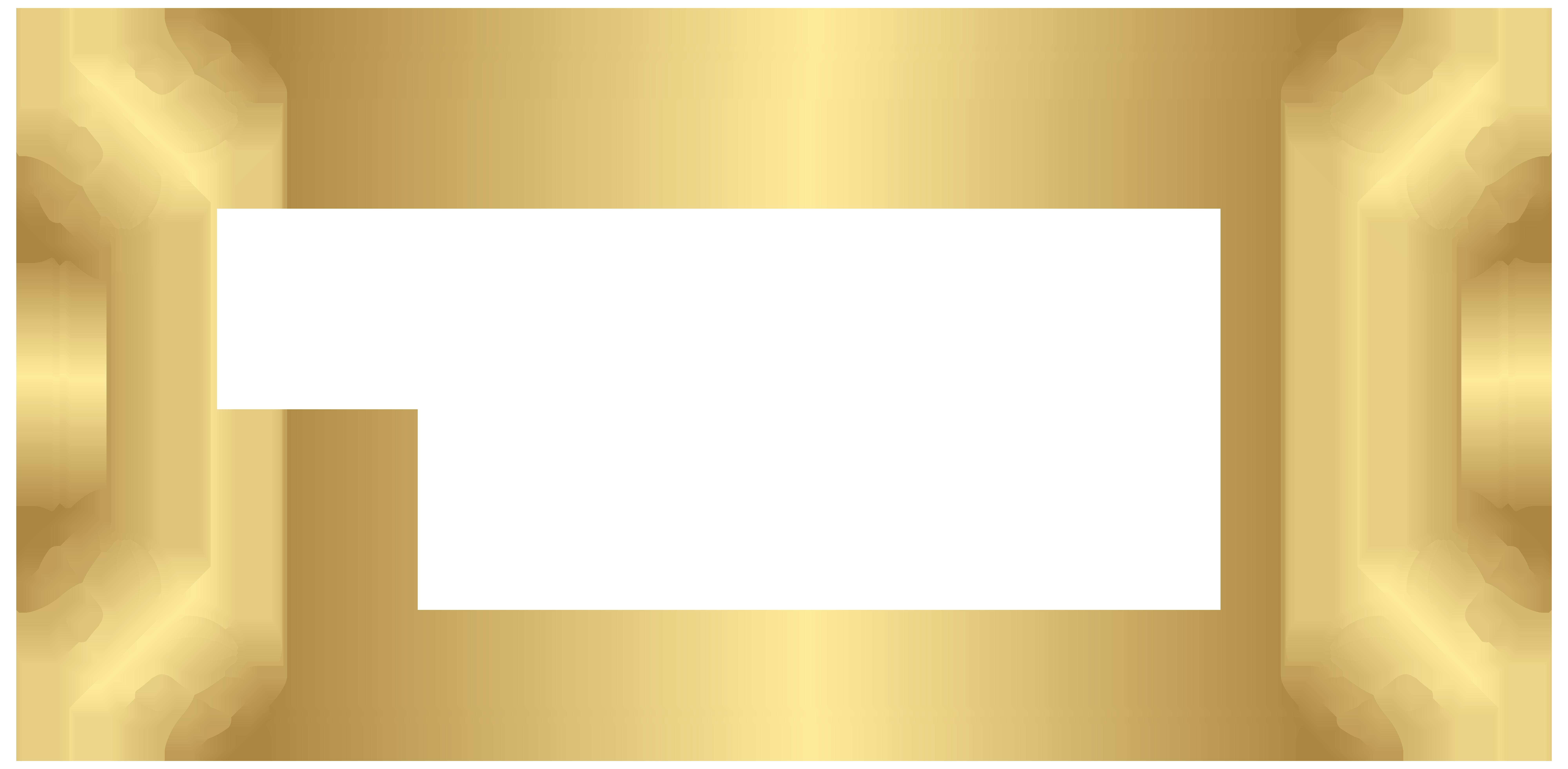 Label Border Transparent PNG Clip Art.