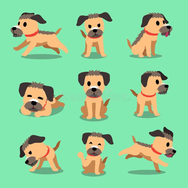 Border Terrier Stock Illustrations.